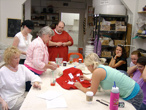 Pottery Classes in Uptown New Orleans