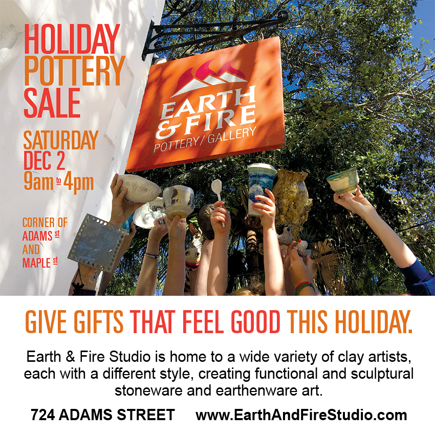Holiday Pottery Sale -December 2, 2017